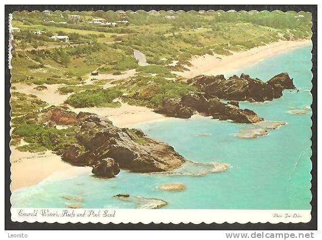 Bermuda Emerald Water's Reefs And Pink Sand Hamilton 1977 - Bermuda