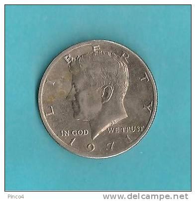 USA KENNEDY - HALF DOLLAR - 1971 - 1964-…: Kennedy