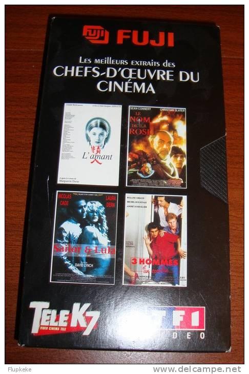 Vhs Pal Télé K7 Hs Tf1 Les Meilleurs Extraits Des Chefs-dù Oeuvre Du Cinéma 1995 - Documentaires