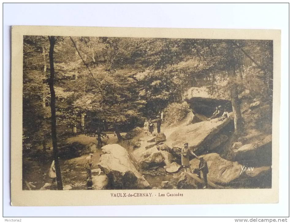 VAULX De VERNAY - Les Cascades. - Vaux De Cernay