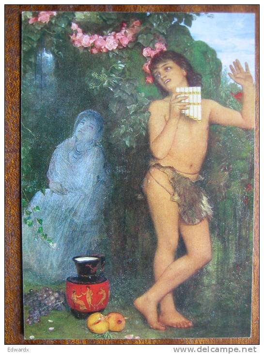 Bocklin, Arnold Amaryllis Schackgalerie Schackgalerie Art Postcard - Peintures & Tableaux