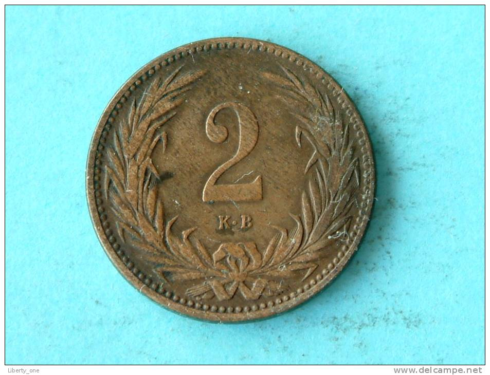 1895 KB - 2 FILLER / KM 480 ( Uncleaned - For Grade, Please See Photo ) ! - Hongrie