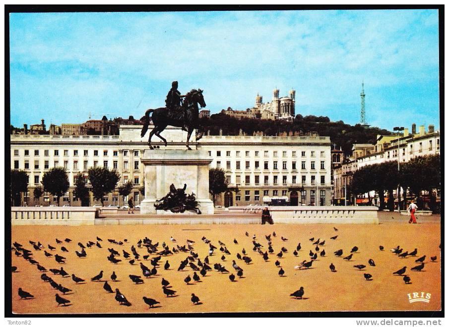 Lyon - Place Bellecour - La Statue De Louis XIV - Lyon