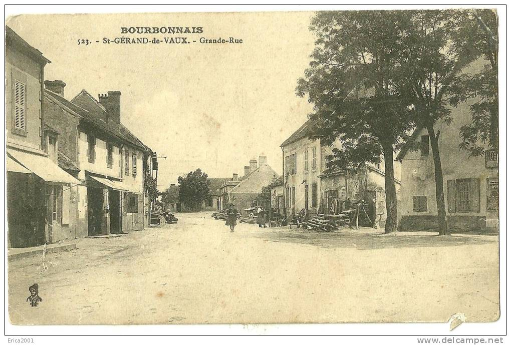 Non Classés.Saint-Gérand-de-Vaux . Grande Rue. - Non Classificati