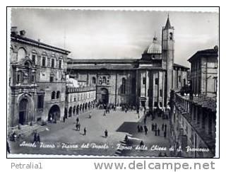 Mar 8310Ascoli Piceno – Piazza Del Popolo – Chiesa Di S.Francesco - Ascoli Piceno