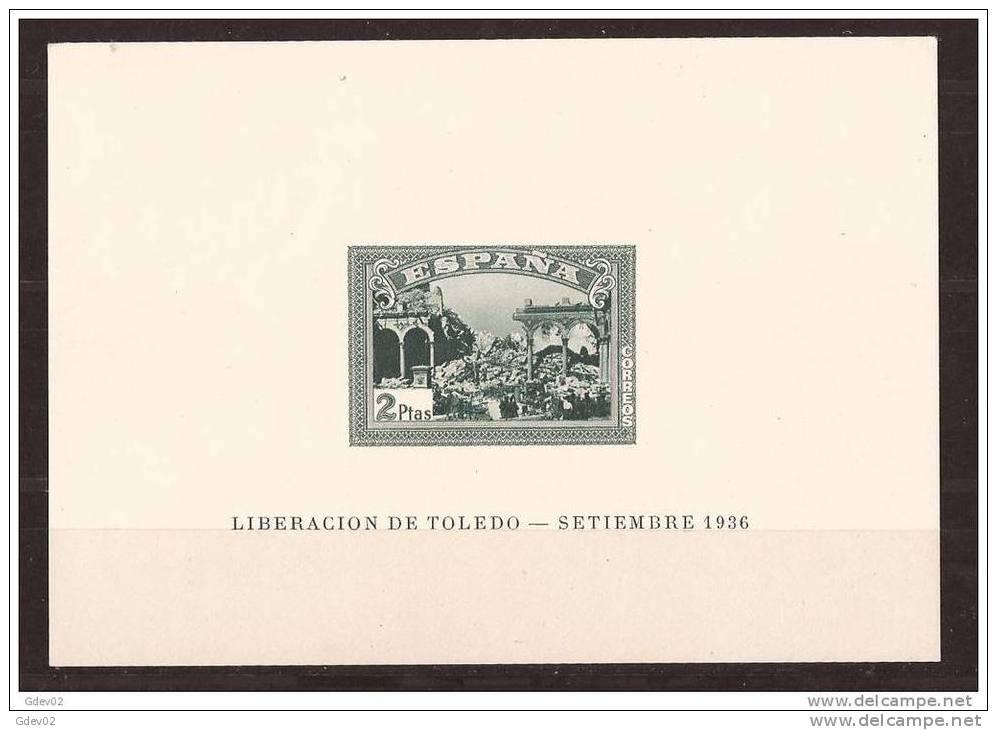 ES838-L2081B.Spain Espagne HB SIN DENTAR ALZAMIENTO N. 1937( Ed 838/9**)sin Charnela.SUPER LUJO CERTIFICADAS - 1931-Hoy: 2ª República - ... Juan Carlos I
