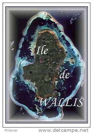 Wallis Et Futuna Carte Postale Moderne Carte  Lagon Recif Ed  T. Beauvilain N34 Neuve TB - Wallis Et Futuna