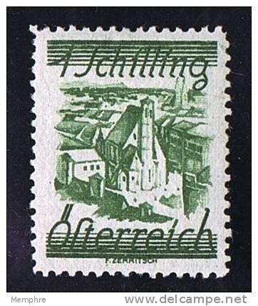 1925  Paysage  1 Schilling  Mi Nr 466 * MH - 1918-1945 1. Republik