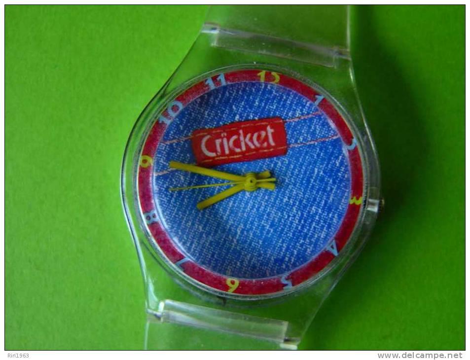Montre Publicitaire Cricket - Montres Publicitaires