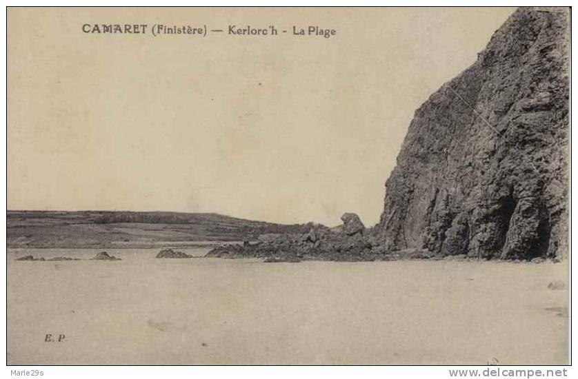 29 CAMARET-SUR-MER Kerlorc´h, La Plage - Camaret-sur-Mer