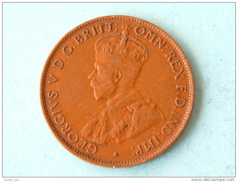 1932 - ONE HALF PENNY / KM 22 ( Uncleaned Coin / For Grade, Please See Photo ) !! - Monnaie Pré-décimale (1910-1965)