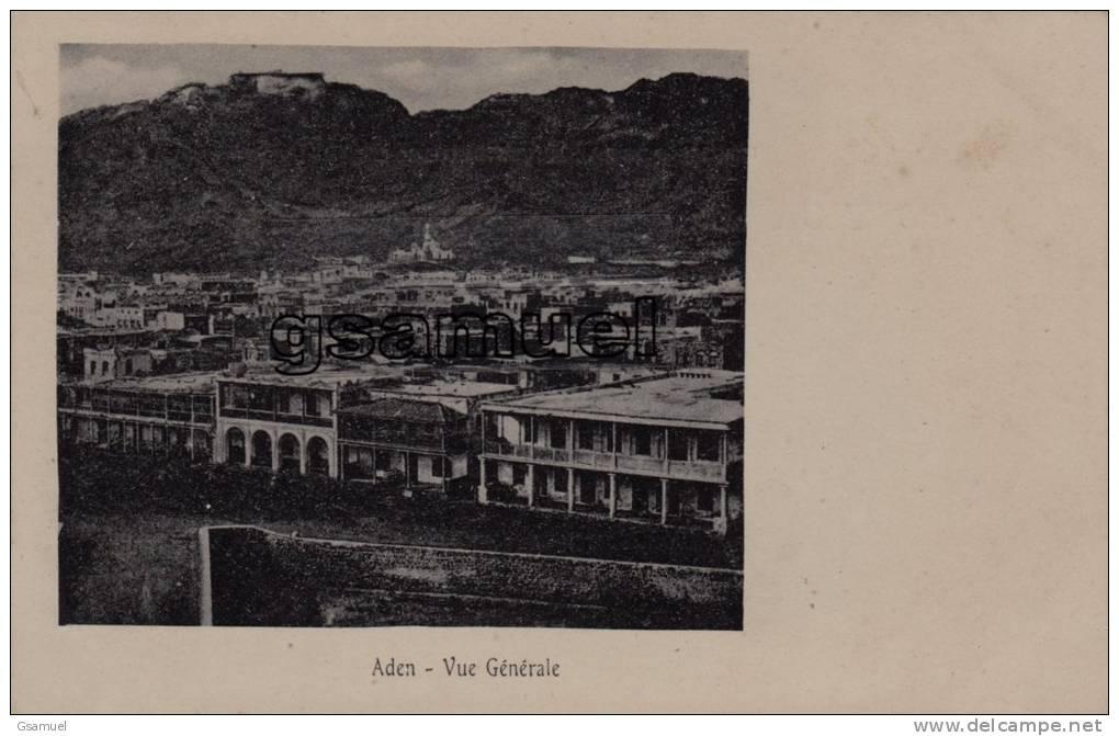 Asie - Yémen : Aden - Vue Générale. - Dos Non Divisé, Avant 1905 - (voir Scan Recto-verso). - Yemen