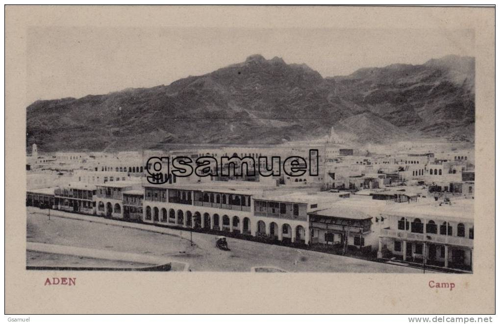 Asie - Yémen : Aden - Camp. - (voir Scan Recto-verso). - Yemen