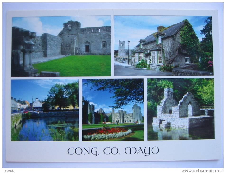 Cong, Co Mayo Ireland Postcard - Mayo