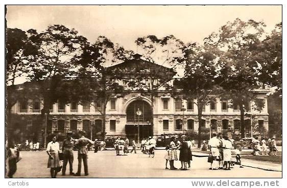 SAIGON La Poste Centrale - Viêt-Nam