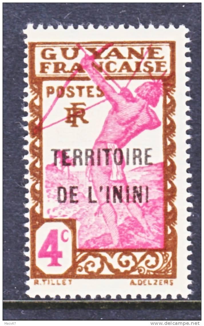 Inini 4    * - Unused Stamps