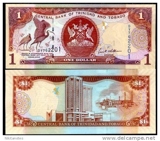 TRINIDAD & TOBAGO 1 DOLLAR 2006 P NEW UNC - Trinidad & Tobago