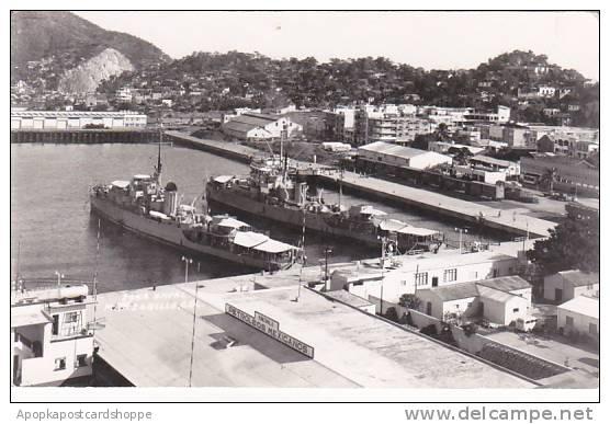 Mexico Manzanillo Naval Zone Real Photo - Mexiko