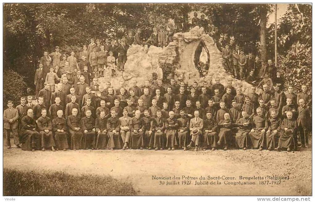 Belgique-réf : BEL-179 : Brugelette Noviciat Des Prêtres Du Sacré-Coeur  Jubillé 30 Juillet 1927 - Brugelette