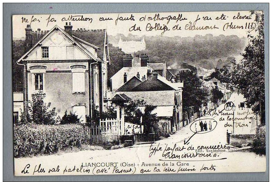 (60) LIANCOURT - Avenue De La Gare (anotations à Voir ...) - Liancourt