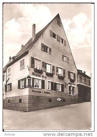 67 MITTELBERGHEIM 1960 BAR TABACS WINSTUB GILG GROS PLAN ED CAP ECRITE TBE - Non Classificati
