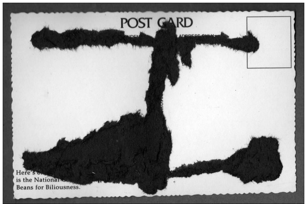 Carte Postale Photo VÉLO PUBLICITAIRE TEA - LONDON  - Collection Nostalgia - Werbepostkarten