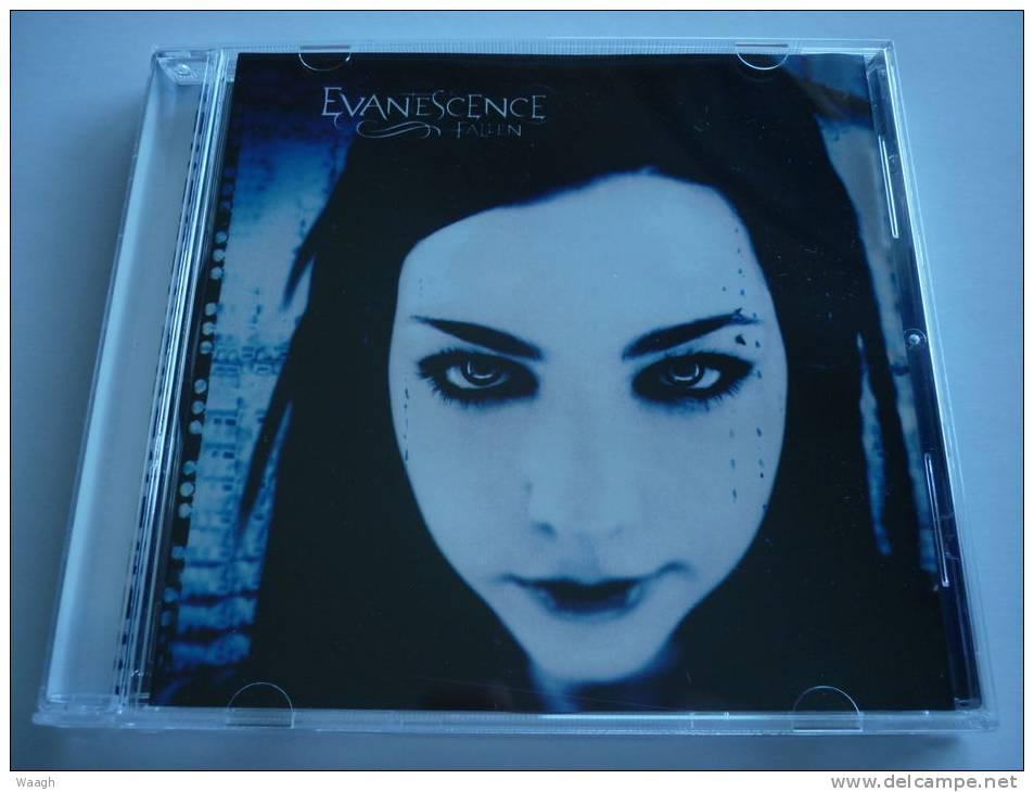 evanescence fallen cd: