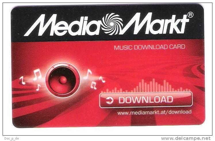 Austria - Österreich - Carte Cadeau - Gift Card - Media Markt - Geschenkkarte - Frankreich