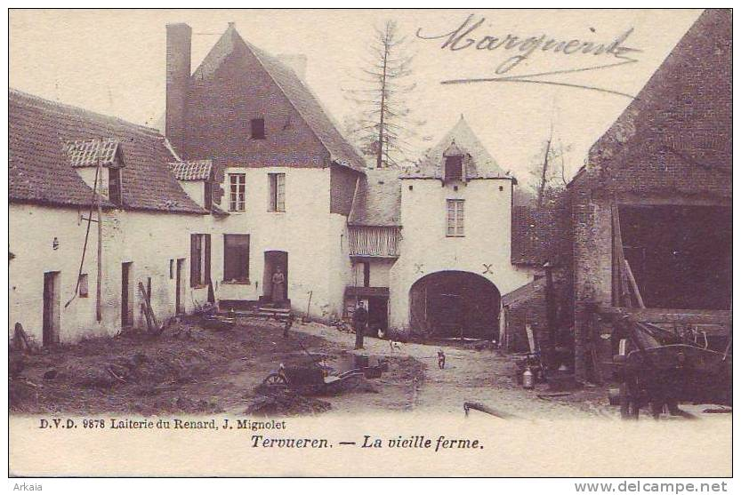 TERVUEREN = La Vieille Ferme  (D.V.D.  N° 9878) écrite - Tervuren