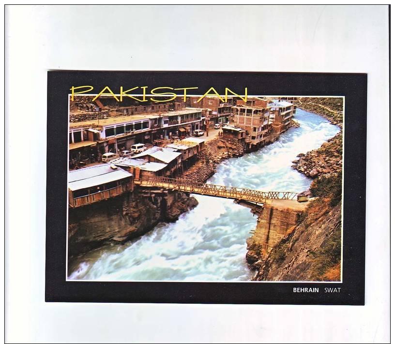 "Unused,Behrain Swat, Meaning Of Its Name Is ""two Waters"". - Pakistan"