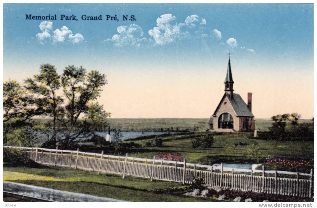 Scenic View,Memorial Park,Grand Pre,Nova Scotia,Canada,00-10s - Non Classés