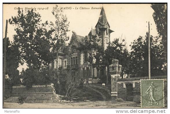 MAING. Le Chateau Bernard - France