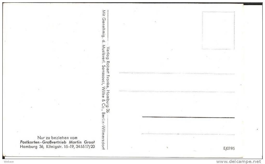 III-Pro118/ Propagandakarte, Frankreich-Feldzug (Stukas Etc) Mit Frankreichlied - Lettres & Documents