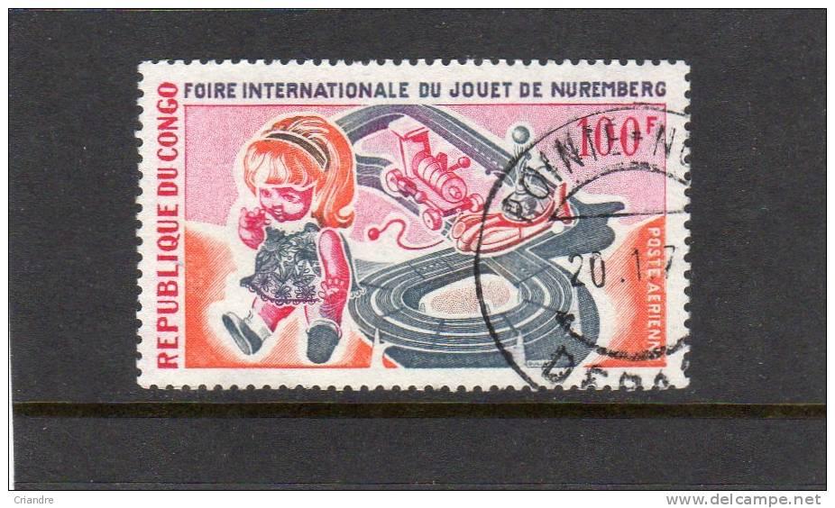 Congo  Foire Du Jouet De Nuemberg.PA .N°85 - Giochi