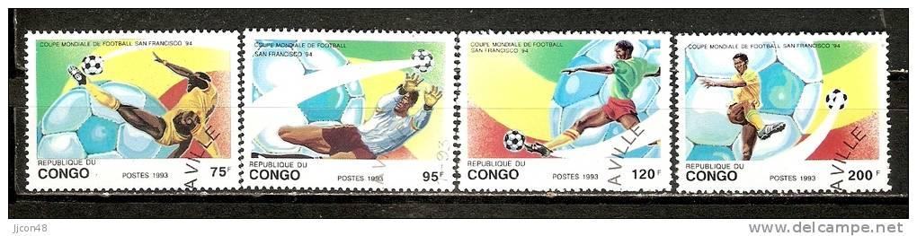 "Congo 1993   ""World Cup , USA""   (o) - Used"
