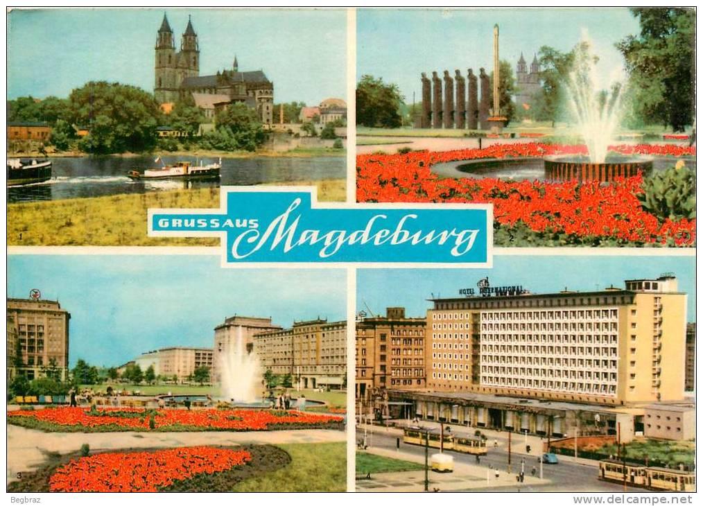MAGDEBURG      GRUSS AUS - Magdeburg