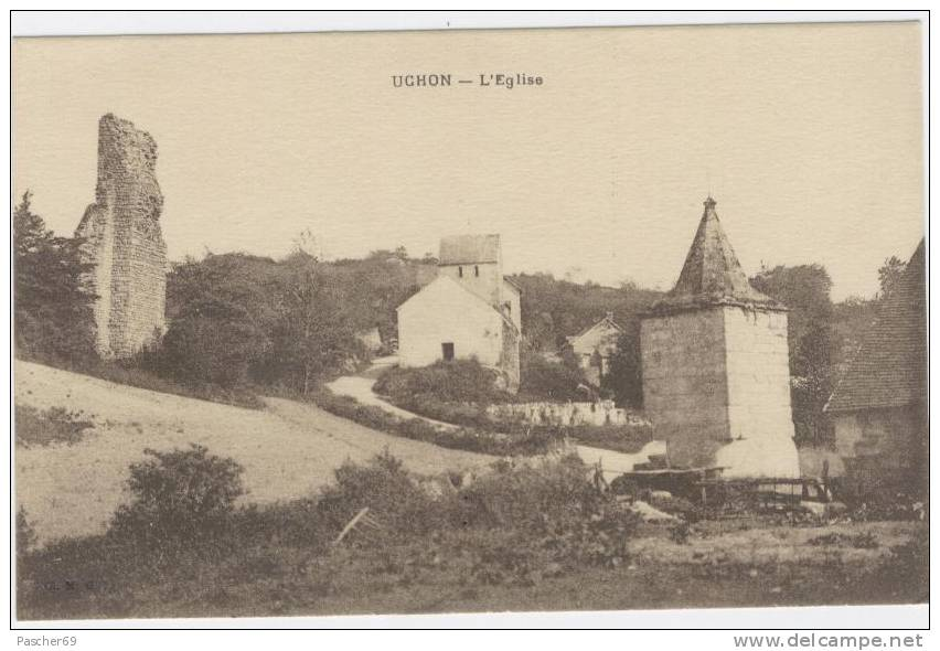 UCHON  (71)  L'EGLISE       /627 - Andere Gemeenten