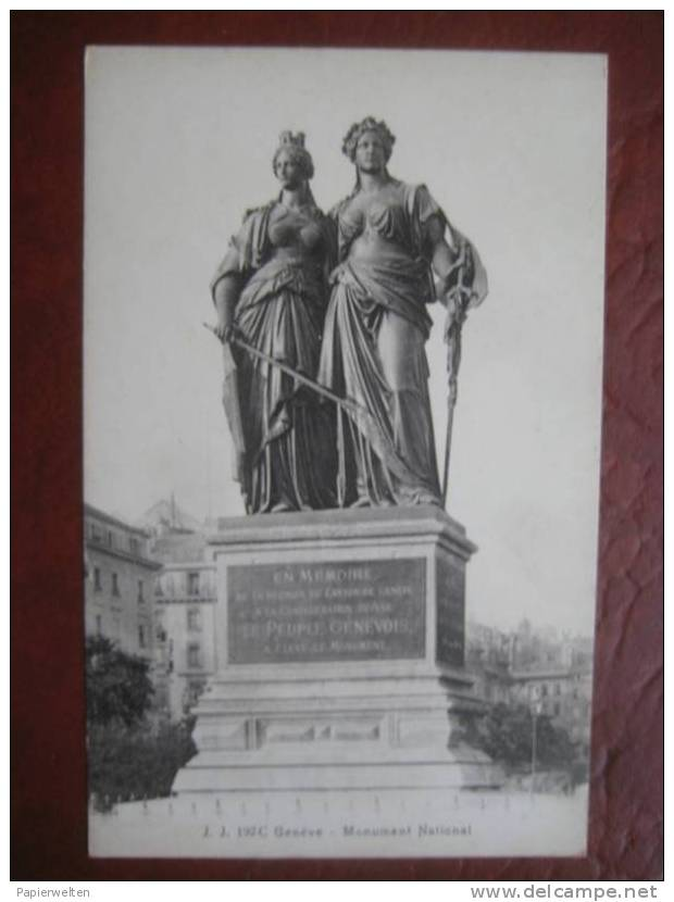 Geneve / Genf - Monument National - GE Ginevra