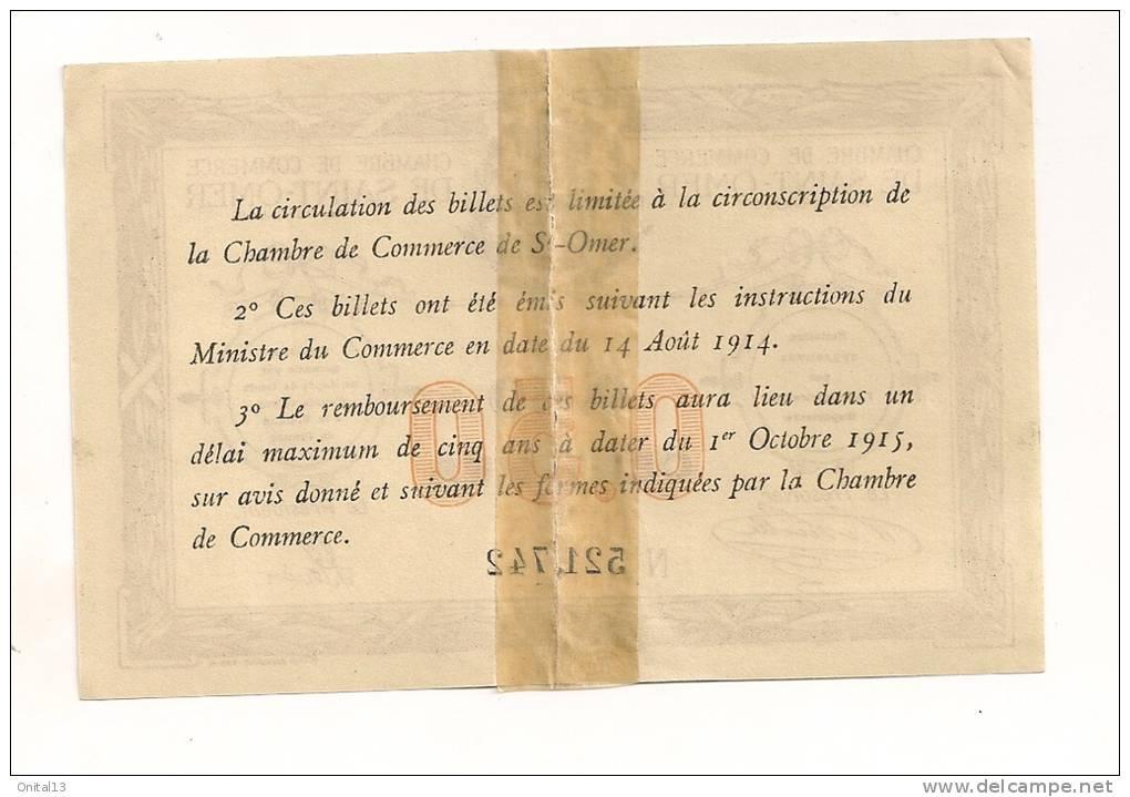 Chambre de commerce de saint omer 50 centimes cp 4779 for Chambre de commerce st eustache
