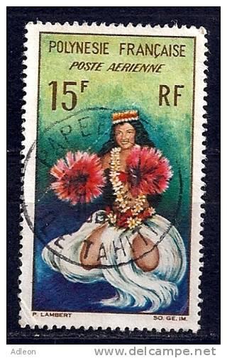 Polynésie - Danseuse Tahitienne -YT PA 7 Obl. - Poste Aérienne