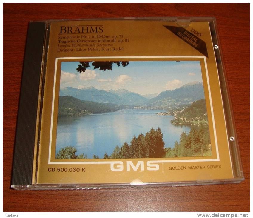 Cd Golden Master Serie Brahms Johannes Brahms Symphonie Nr 2 - Classique