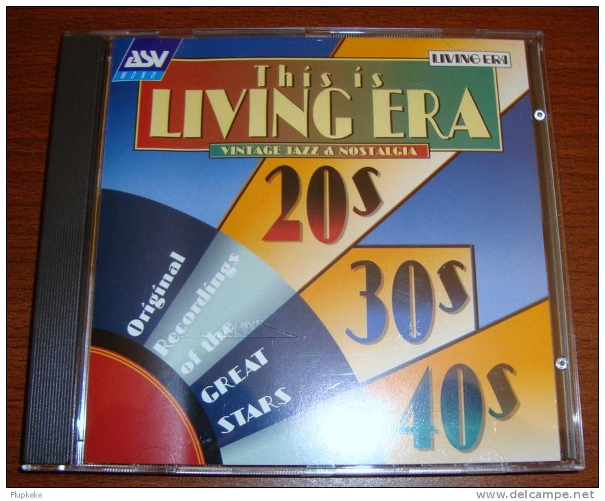 Cd This Is Living Era Louis Armstrong Charlie Benet Judy Garland Paul Robeson Sidney Bechet - Musicals