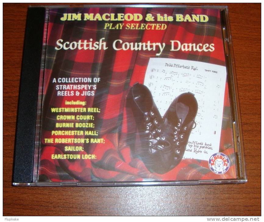 Cd Jim MacLeod And His Band Play Selected Scottish Country Dances - Country & Folk