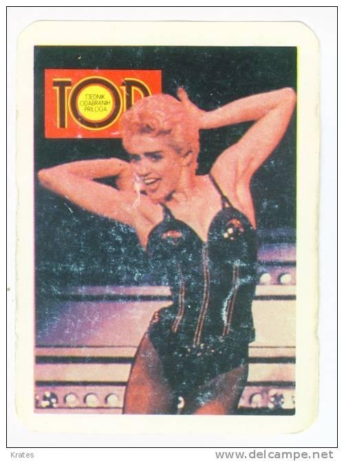 Pocket Calendars - Madonna, Yugoslavia - Calendarios