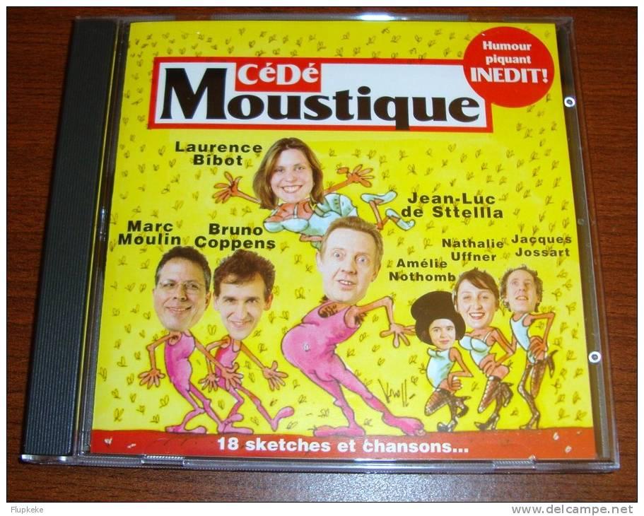 Cd Cédé Moustique Humour Piquant Inédit 18 Sketches Et Chansons Laurence Bibot Marc Moulin Bruno Coppens - Humor, Cabaret