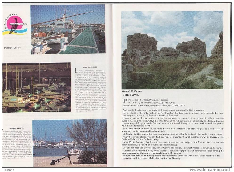 C0504 - PORTO TORRES - Guida Alla Città Anni '70 - Turismo, Viaggi