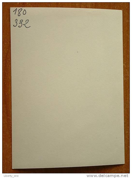 GEHANDTEKENDE FOTO Van TE IDENTIFICEREN / Frankrijk (?) ( Zie Foto Voor Details ) !! - Autogramme