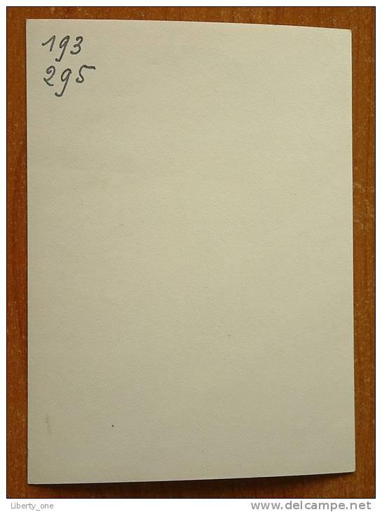 GEHANDTEKENDE FOTO Van TE IDENTIFICEREN 1949 ( Frankrijk ? ) ( Photo : ? - Zie Foto Voor Details ) !! - Autogramme