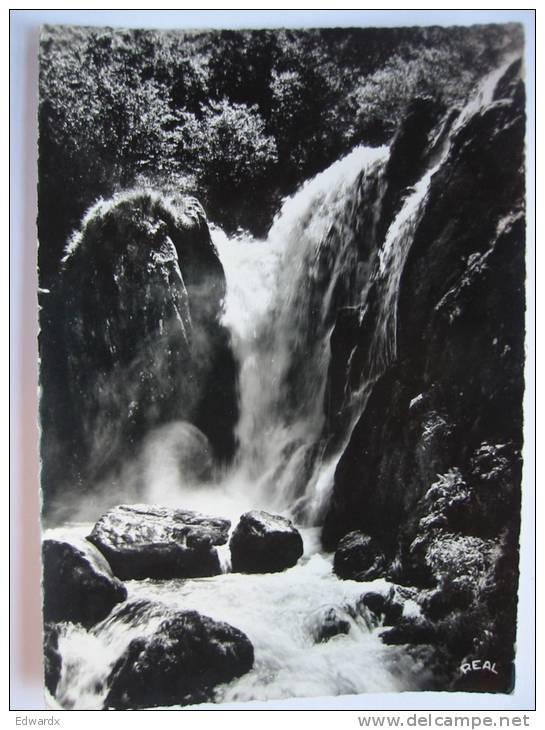 Cascade Des Bezines Col De Puymorens France Used 1964 RP Postcard - Ax Les Thermes