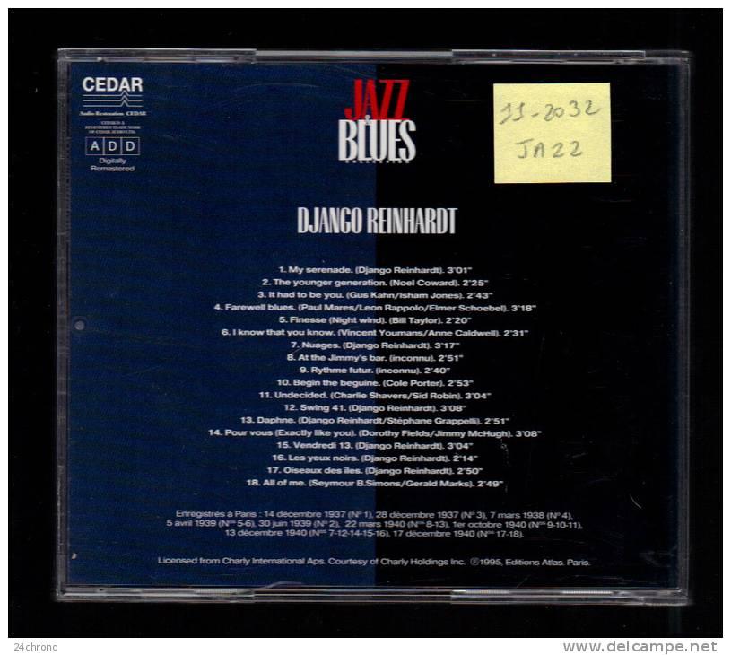 Collection Jazz & Blues: Django Reinhardt, 18 Titres (11-2032) - Jazz